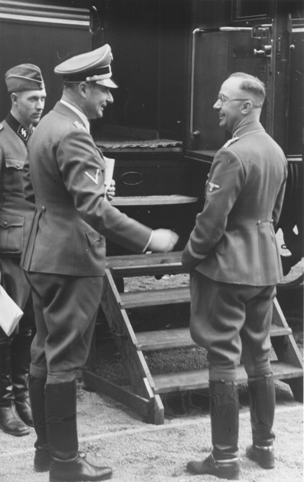 a biography of heinrich himmler the head of the gestapo and the waffen ss Kommandostab reichsführer-ss (command staff reichsführer-ss) was a paramilitary organisation within the ss of nazi germany under the personal control of heinrich himmler , the head of the ss established in 1941, prior to the german invasion of soviet union, it consisted of the waffen-ss security forces deployed in the occupied territories.